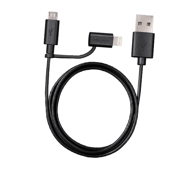 VARTA 2in1 USB Ladekabel