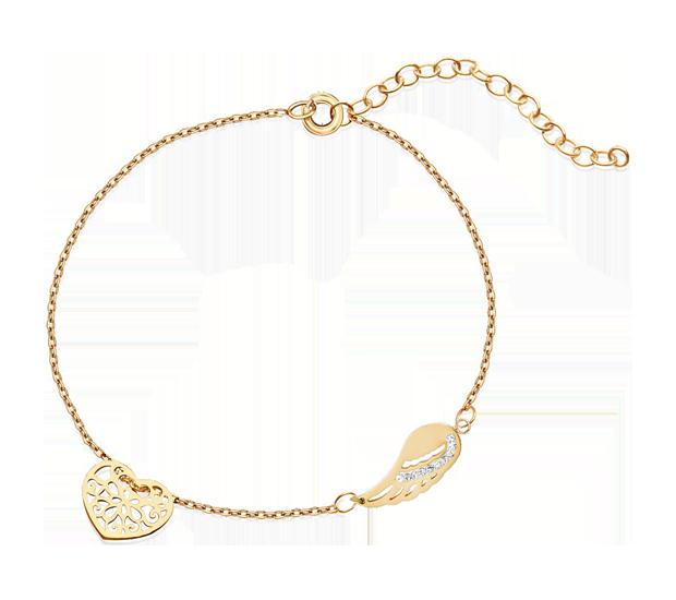 Armband Damen vergoldet