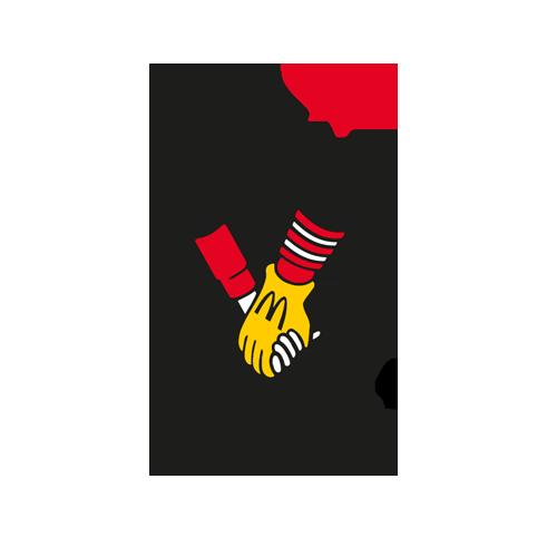 Ronald McDonald 100Punkte=1€