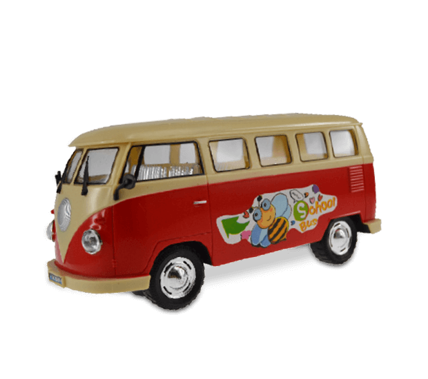 Selbstfahrender VW Bus
