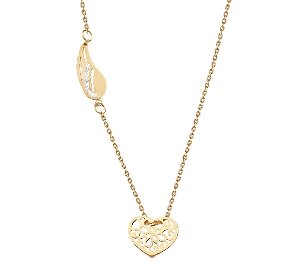 Halskette Damen vergoldet