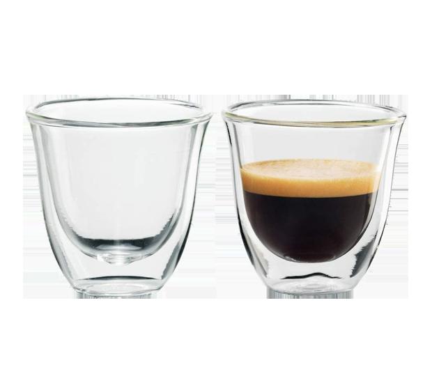 DELONGHI Espresso-Gläser 2er-Set
